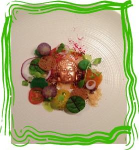 Winnend gerecht  Chef's Challenge in de Magical Vegetable Tour.