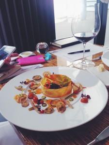 Het winnende gerecht uit Rotterdam van restaurant Allure